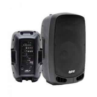 hybrid pa12b battery powered speaker