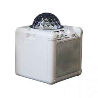 hybrid kw4l portable speaker with light