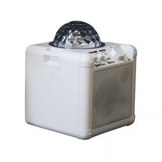 hybrid kw4l portable speaker with light