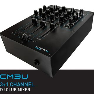 Hybrid CM 3 U DJ Mixer