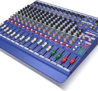 Midas dm16 analog mixer